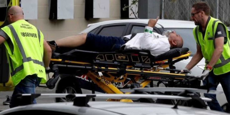 Witnesses say many dead, injured in shooting at New Zealand mosque
